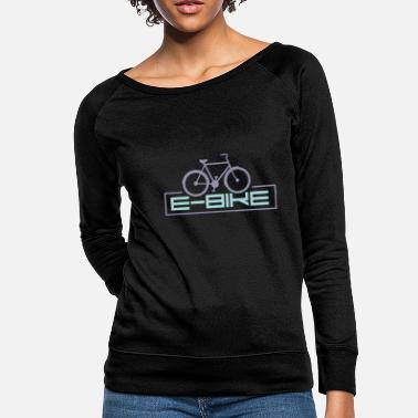 Bike E-Bike - Women's Crewneck Sweatshirt