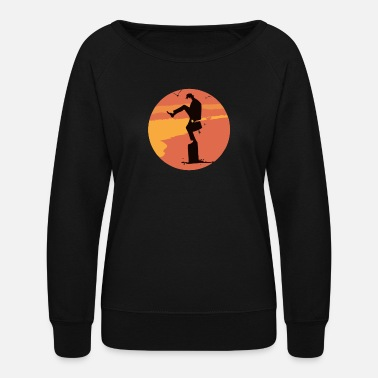 Silly Silly Karate - Women's Crewneck Sweatshirt