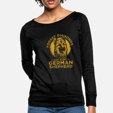 Pet German Shepherd Dog Lover Pet Animal Dog Gift - Women's Crewneck Sweatshirt