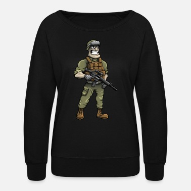 Soldier - Women's Crewneck Sweatshirt
