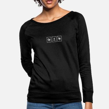 Atom Coffee Element - Teacher - Women's Crewneck Sweatshirt