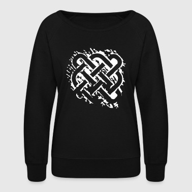 Celtic graphic - Women's Crewneck Sweatshirt