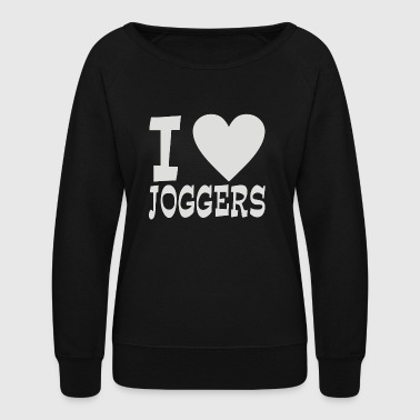 I Love Jogging - Women's Crewneck Sweatshirt