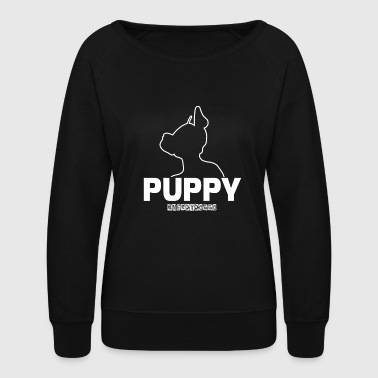 puppy - Women's Crewneck Sweatshirt