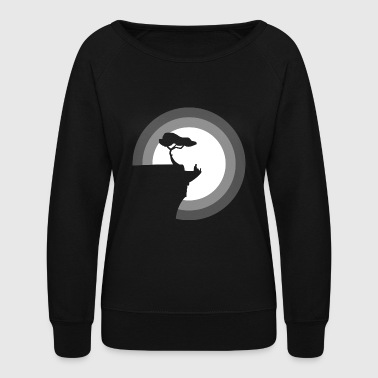Digital Nomad - Women's Crewneck Sweatshirt