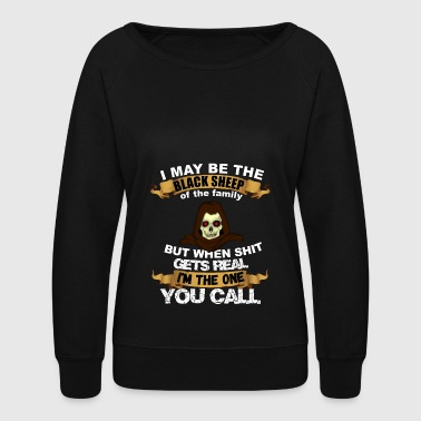 black sheep - outlaw - Women's Crewneck Sweatshirt