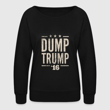 Dump Trump - Women's Crewneck Sweatshirt
