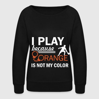 pingpong design - Women's Crewneck Sweatshirt