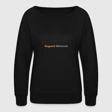 Degand Network - Women's Crewneck Sweatshirt