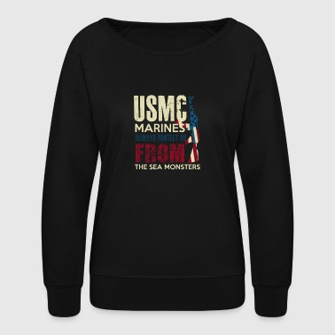 MARINES - Women's Crewneck Sweatshirt