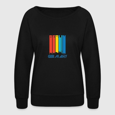 Retro Berlin Skyline - Women's Crewneck Sweatshirt