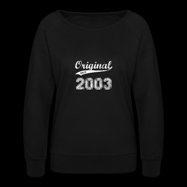 2003 - Women's Crewneck Sweatshirt