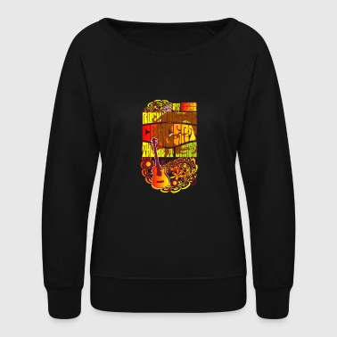 rock concert - Women's Crewneck Sweatshirt
