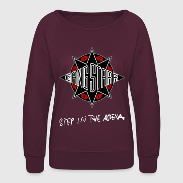 GANGSTARR - STEP IN THE ARENA - Women's Crewneck Sweatshirt