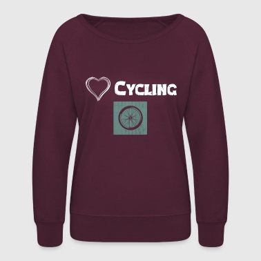 Kilometer We Love Cycling - Women's Crewneck Sweatshirt