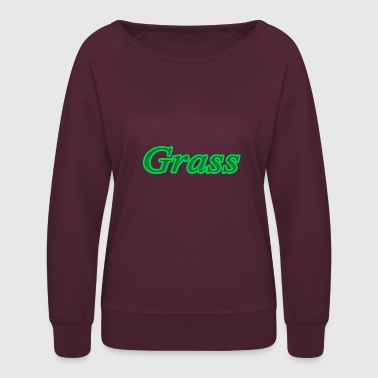 grass - Women's Crewneck Sweatshirt