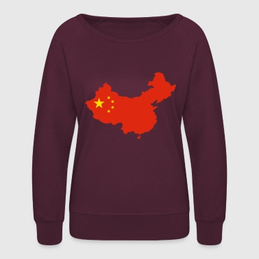 China land of china - Women's Crewneck Sweatshirt