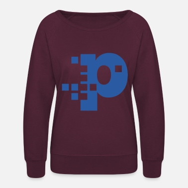 Pixelated Pixel - Women's Crewneck Sweatshirt