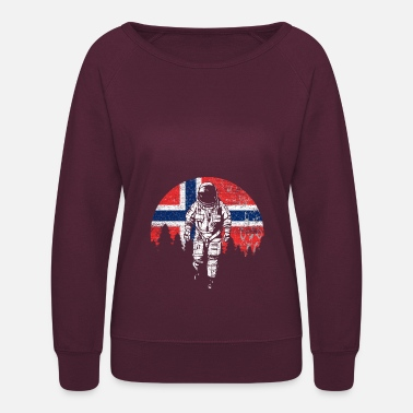 Norway Norway flag - Women's Crewneck Sweatshirt