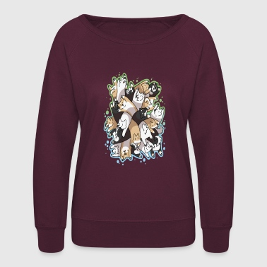 Dog Pile - Women's Crewneck Sweatshirt
