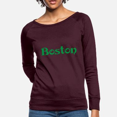 Marathon BOSTON - Women's Crewneck Sweatshirt