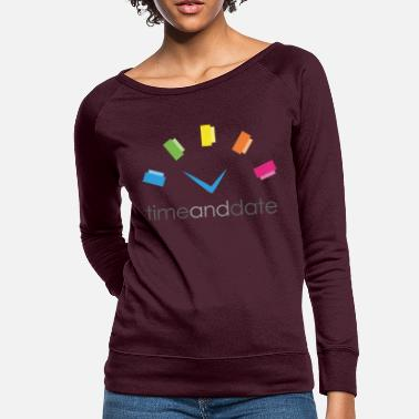 Date Of Time and Date - Women's Crewneck Sweatshirt