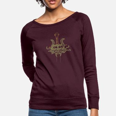 Dragon Head - Women's Crewneck Sweatshirt
