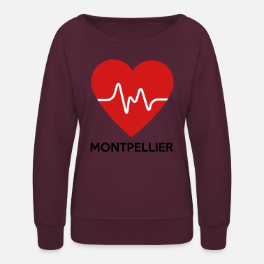 Montpellier Heart Montpellier - Women's Crewneck Sweatshirt