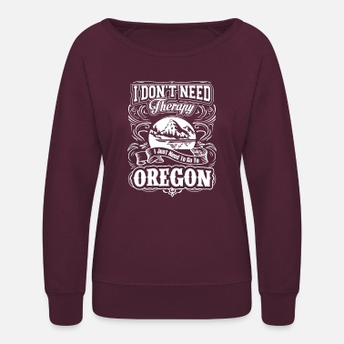 Portland Oregon - Women's Crewneck Sweatshirt