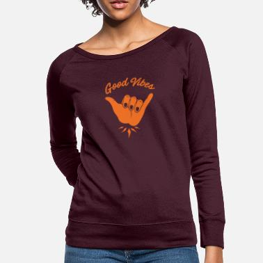 Good Vibes Good Vibes - Women's Crewneck Sweatshirt