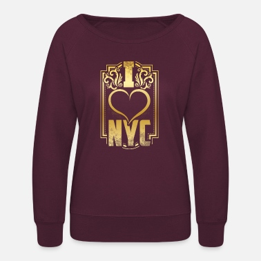 I Love New York New York I love New York gift - Women's Crewneck Sweatshirt