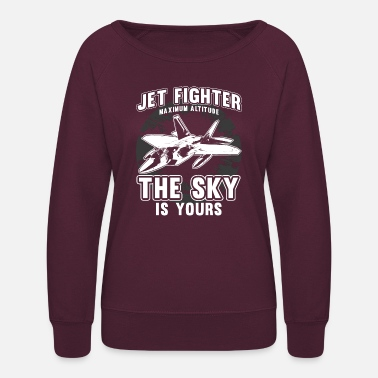 Jet Fighter JET FIGHTER - Women's Crewneck Sweatshirt