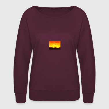 Sun-Set - Women's Crewneck Sweatshirt