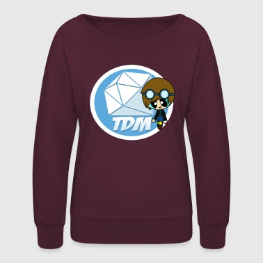 Fans DAN TDM Minecart Fan Club - Women's Crewneck Sweatshirt