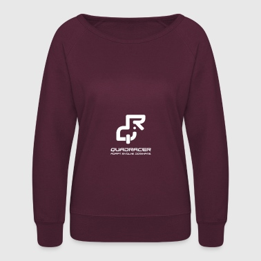 QuadRacer - White - Women's Crewneck Sweatshirt