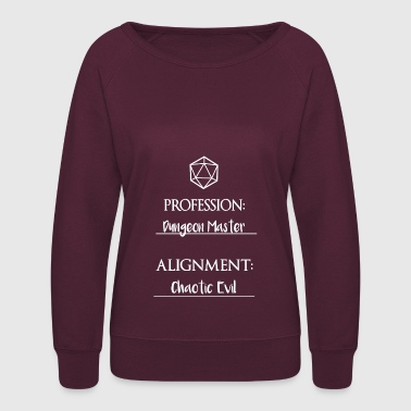 dungeon master - Women's Crewneck Sweatshirt