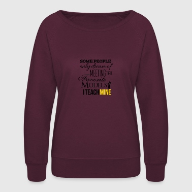 Models - Women's Crewneck Sweatshirt