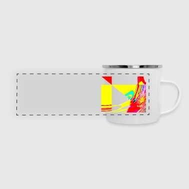 the wind is blowing - Panoramic Camper Mug