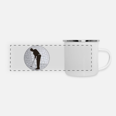 Golf Golf - Panoramic Camper Mug