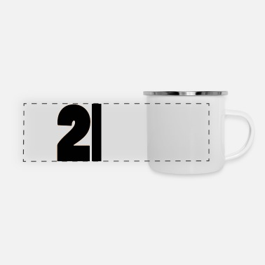21st Birthday 21st Birthday - Panoramic Camper Mug