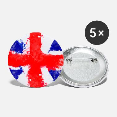 National National Flag Series: United Kingdom - Small Buttons