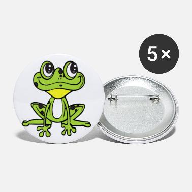 Tree Green Tree Frog Tree Hugger Amphibian - Small Buttons