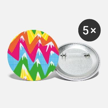 Peak Colorful peaks - Small Buttons