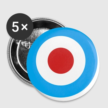 MOD Symbol Lapel Button - Small Buttons