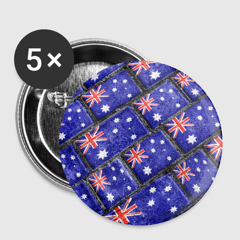 Australia Flag Pattern - Small Buttons
