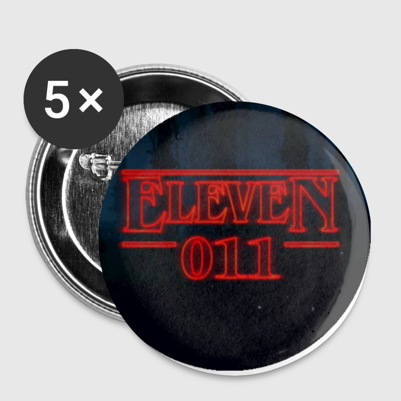 Eleven 011 Stranger Things Circle - Small Buttons