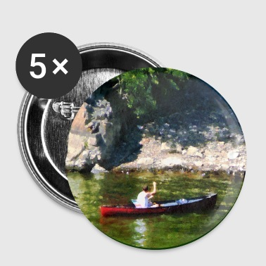 Canoeing in Paterson NJ - Small Buttons