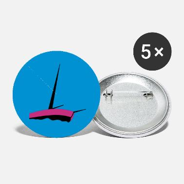 Sailboat sailboat (3c) - Small Buttons