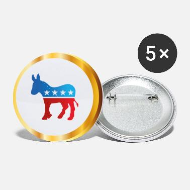 Democrat Vote Democrat - Small Buttons
