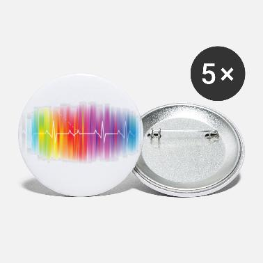 Gay Pride Gay Pride - Gay Rainbow Pulse - Small Buttons